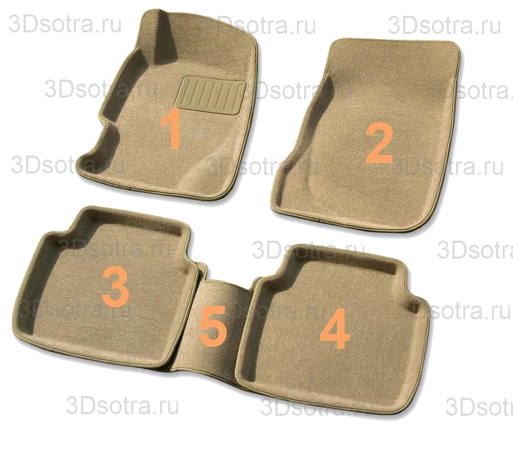 Коврики Sotra 3D
