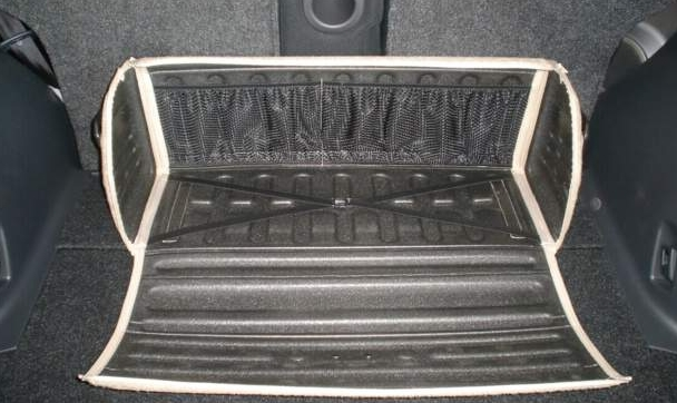 Сумка Lux Boot в багажник большая серая FRMS (81x30x31 см)