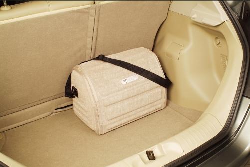 Сумка Lux Boot в багажник маленькая красная FRMS (46x30x31 см)