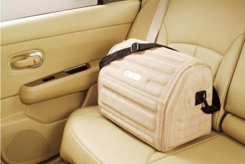 Сумка Lux Boot в багажник маленькая черная FRMS (46x30x31 см)