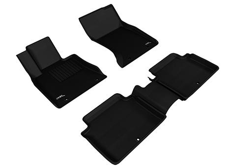 Коврики салона текстильные Genesis G80 2017-> AWD LINER 3D Lux с бортиком черные