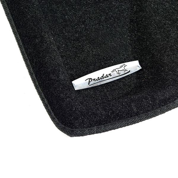 Коврики салона текстильные Mitsubishi Pajero IV 5D 2006-2016 3D Pradar XL черные (с металлическим подпятником)