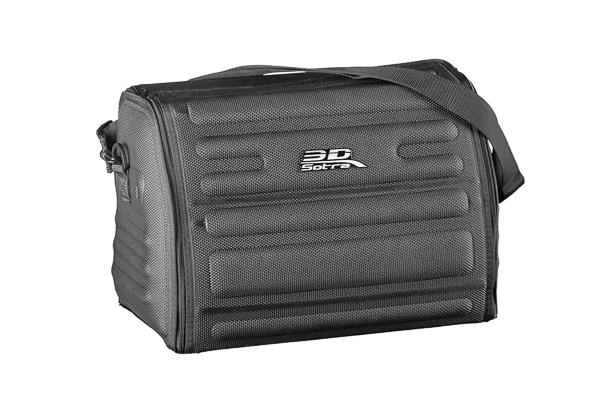 Сумка-органайзер Sotra 3D Kagu маленькая в багажник черная (46х30х31 см)