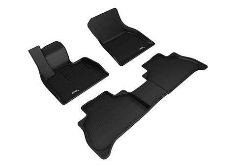 Коврики салона текстильные BMW X5 G05 2018-> Liner 3D Lux с бортиком черные