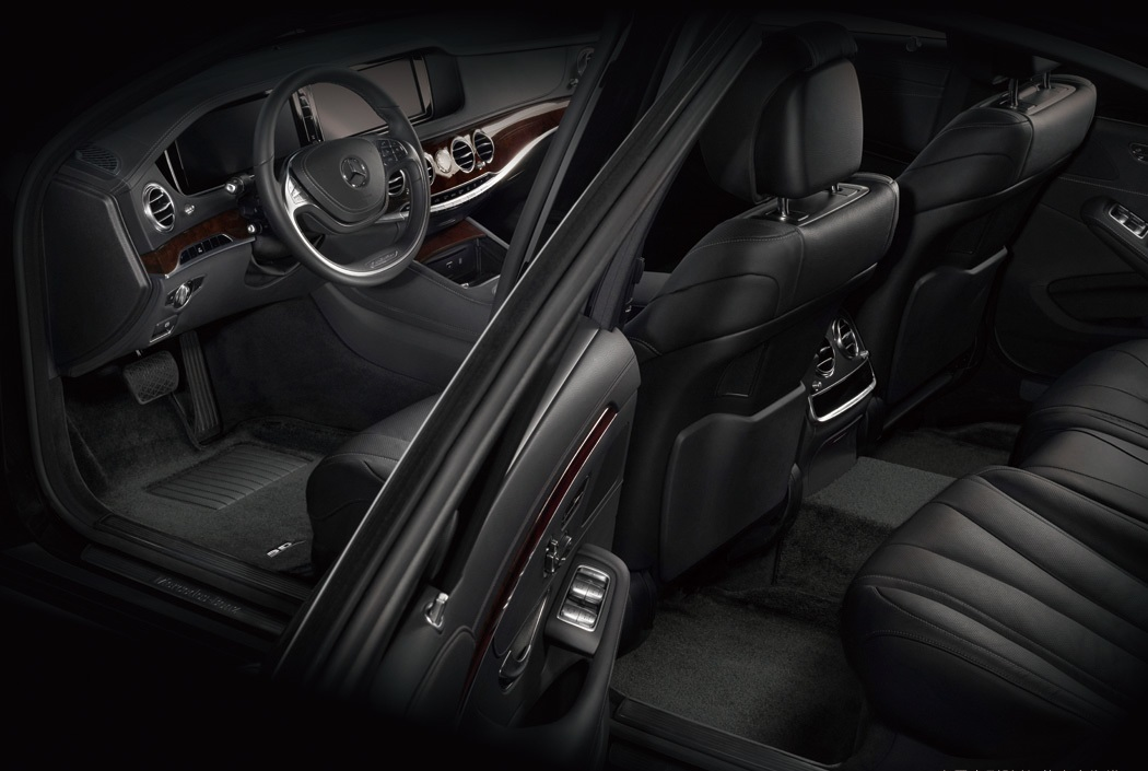 Коврики салона текстильные Jaguar F-Pace 2016-> LINER 3D VIP с бортиком черные