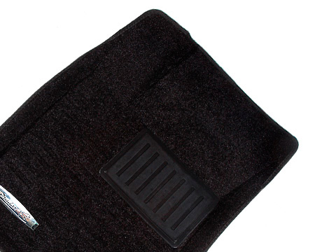 Коврики салона текстильные Citroen C5 2010-> 3D Pradar с бортиком черные