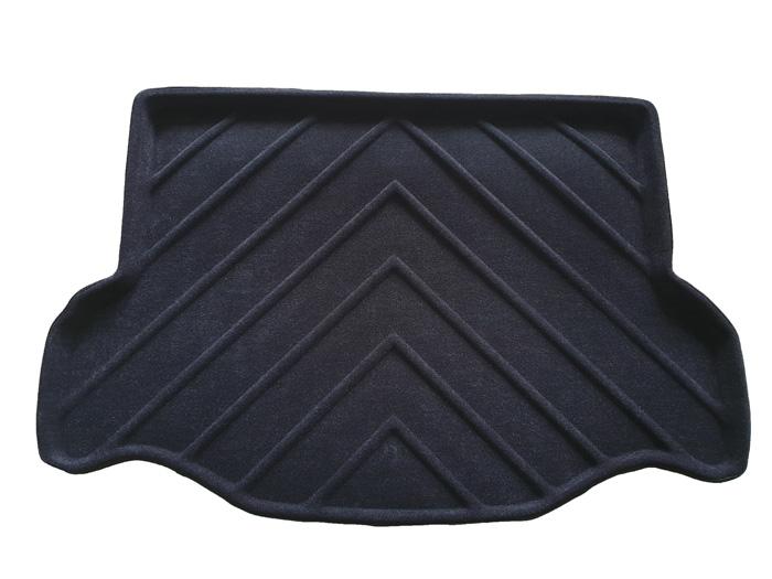 Коврик багажника текстильные Toyota RAV4 IV 2012-> LINER с бортиком черный