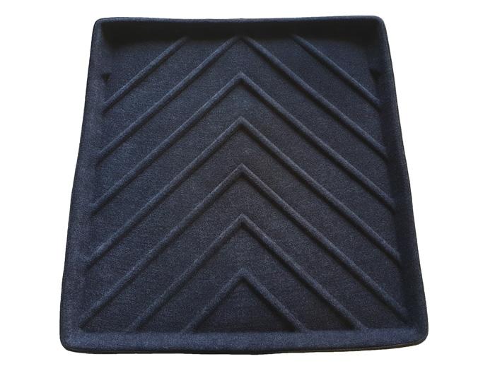 Коврик багажника текстильные Porsche Panamera 2011-> LINER Basic черный