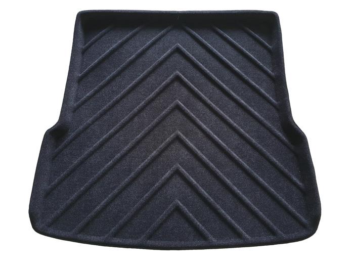 Коврик багажника текстильные Mercedes-Benz GL X166 2012-> LINER с бортиком черный