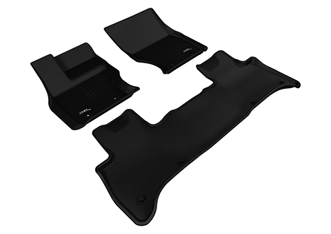 Коврики салона текстильные Land Rover Range Rover Sport II 2013-> LINER 3D Lux с бортиком черные