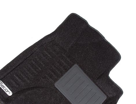 Коврики салона текстильные Lexus RX450 2009-> Satori с бортиком серые