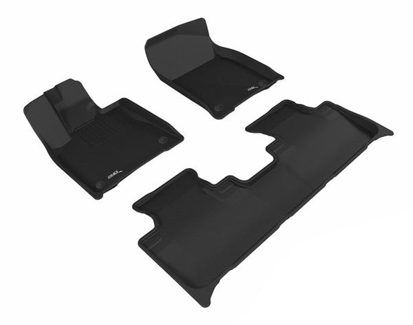 Коврики салона текстильные Lexus RX350/450 2016-> LINER 3D Lux с бортиком черные